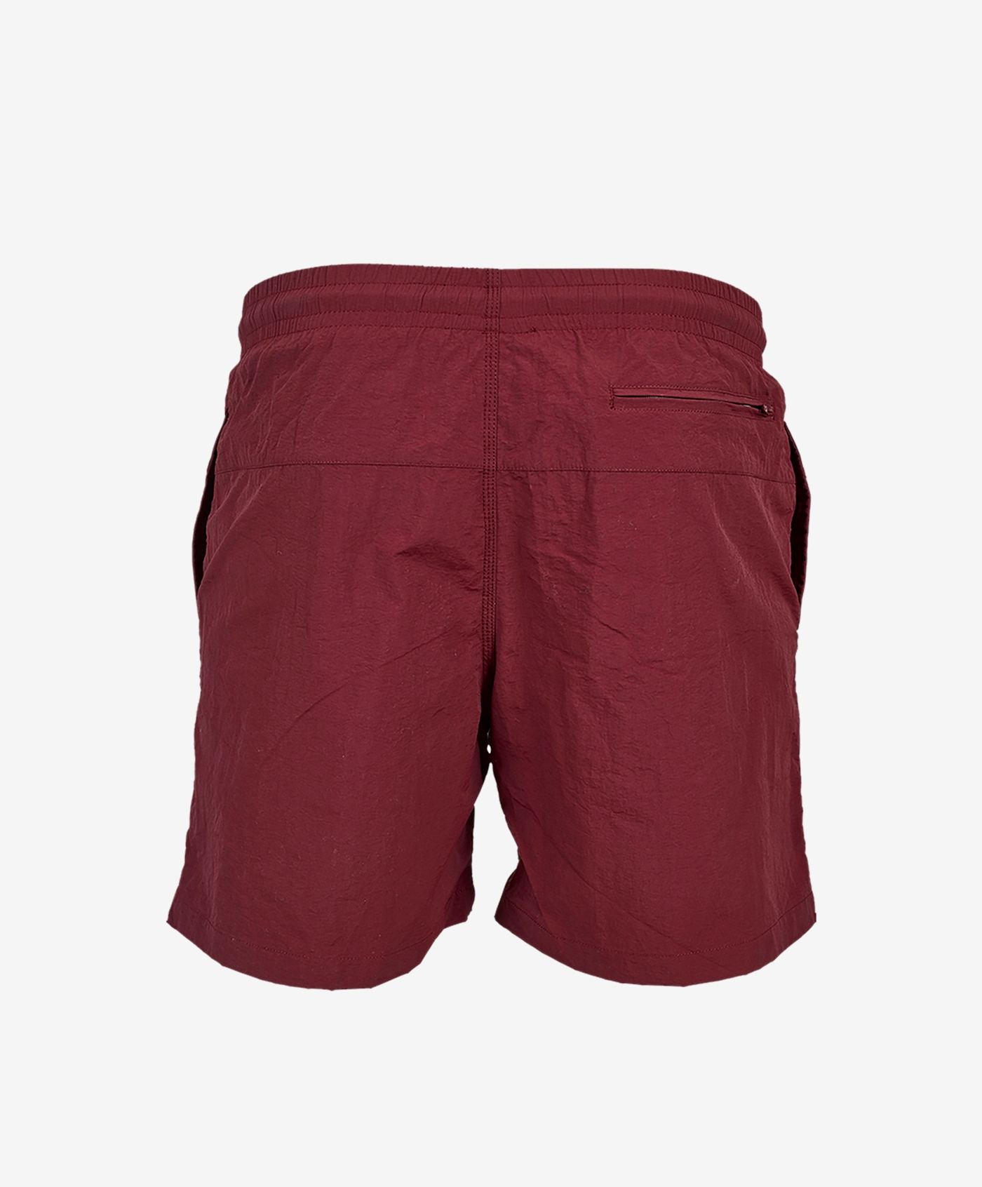 funky-logo-shorts-burgundy-back