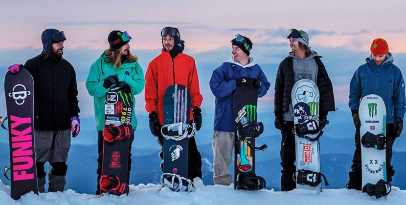 Snowboard, powder, fun and friends this is a real movie!
