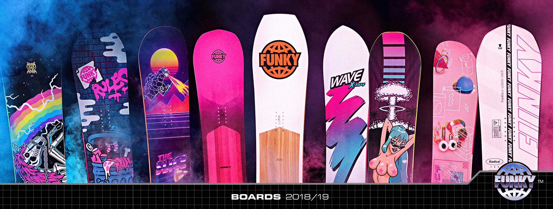 Funky Snowboards 2018/2019