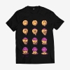 trippin tee front black