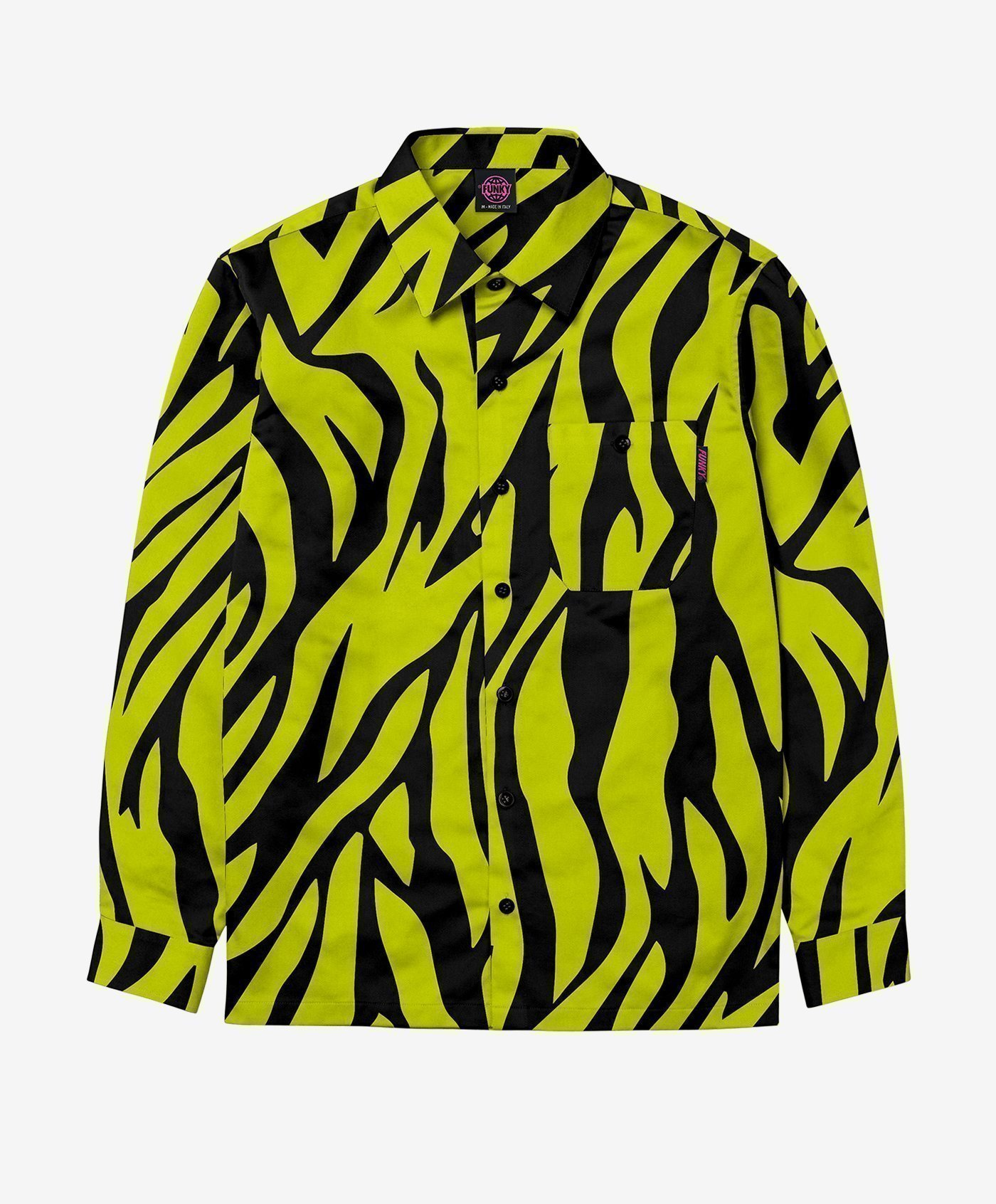 funky safari shirt lime