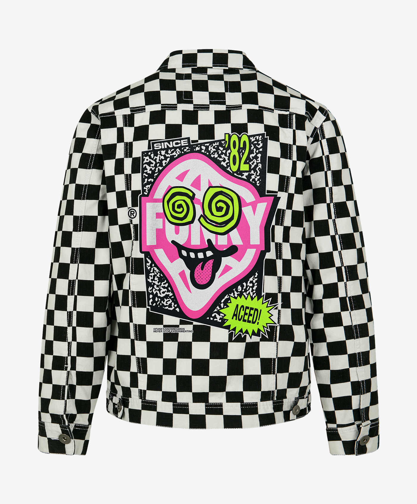 funky aceed jacket back
